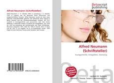Bookcover of Alfred Neumann (Schriftsteller)