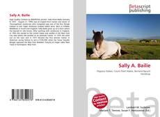 Bookcover of Sally A. Bailie