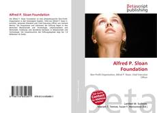 Capa do livro de Alfred P. Sloan Foundation