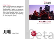 Alfred Piccaver kitap kapağı