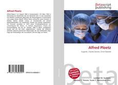 Bookcover of Alfred Ploetz