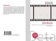 Bookcover of Sally Benson