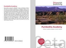 Bookcover of Pumbedita Academy