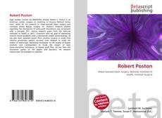 Bookcover of Robert Poston