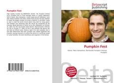 Copertina di Pumpkin Fest
