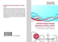 Capa do livro de United States Senate Election in Ohio, 2010