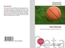 Paul Nowak kitap kapağı