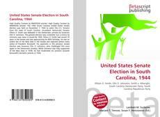 Capa do livro de United States Senate Election in South Carolina, 1944