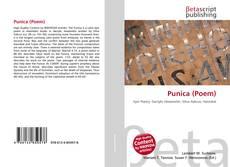 Couverture de Punica (Poem)