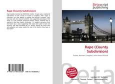 Bookcover of Rape (County Subdivision)