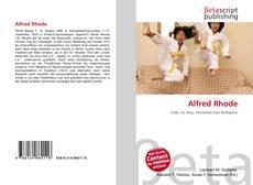 Capa do livro de Alfred Rhode
