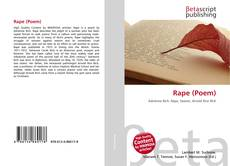 Bookcover of Rape (Poem)