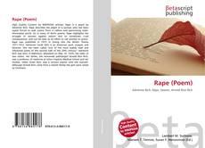 Buchcover von Rape (Poem)