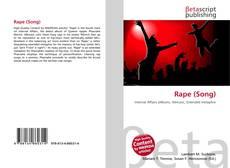 Buchcover von Rape (Song)