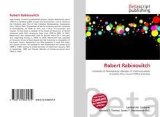 Portada del libro de Robert Rabinovitch
