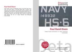 Buchcover von Paul Rand Dixon