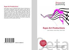 Rape Art Productions kitap kapağı