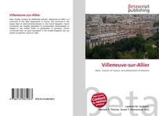 Capa do livro de Villeneuve-sur-Allier
