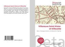 Capa do livro de Villeneuve-Saint-Vistre-et-Villevotte