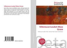 Capa do livro de Villeneuve-Loubet Mass Grave