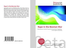 Bookcover of Rape in the Bosnian War
