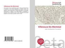 Capa do livro de Villeneuve-lès-Montréal