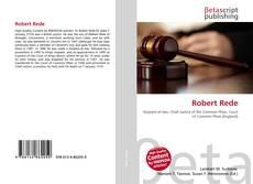 Capa do livro de Robert Rede