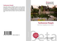 Bookcover of Taishanese People