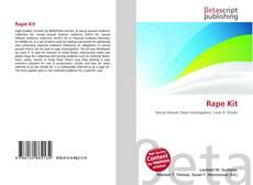 Buchcover von Rape Kit