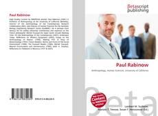 Bookcover of Paul Rabinow