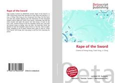 Portada del libro de Rape of the Sword
