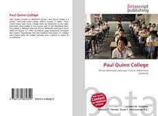 Buchcover von Paul Quinn College