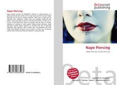 Capa do livro de Nape Piercing