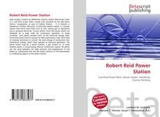 Robert Reid Power Station的封面