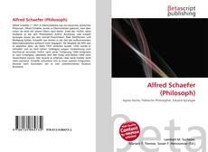Couverture de Alfred Schaefer (Philosoph)