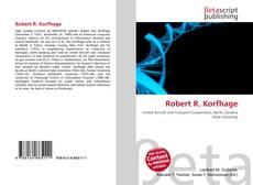 Portada del libro de Robert R. Korfhage