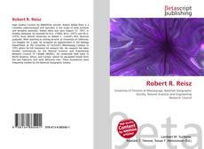 Обложка Robert R. Reisz