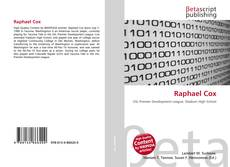Bookcover of Raphael Cox