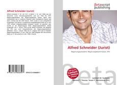 Portada del libro de Alfred Schneider (Jurist)