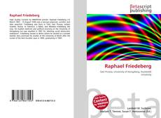 Bookcover of Raphael Friedeberg