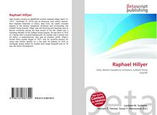Bookcover of Raphael Hillyer