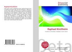 Bookcover of Raphael Kirchheim