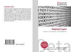 Bookcover of Raphael Lapin