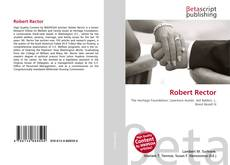 Bookcover of Robert Rector