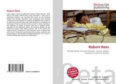 Portada del libro de Robert Rees