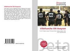 Villefranche XIII Aveyron的封面
