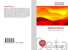 Bookcover of Raphael Marcus