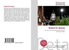 Robert R. Bowie kitap kapağı