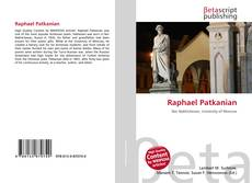 Bookcover of Raphael Patkanian