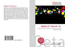 Robert R. Church, Sr. kitap kapağı